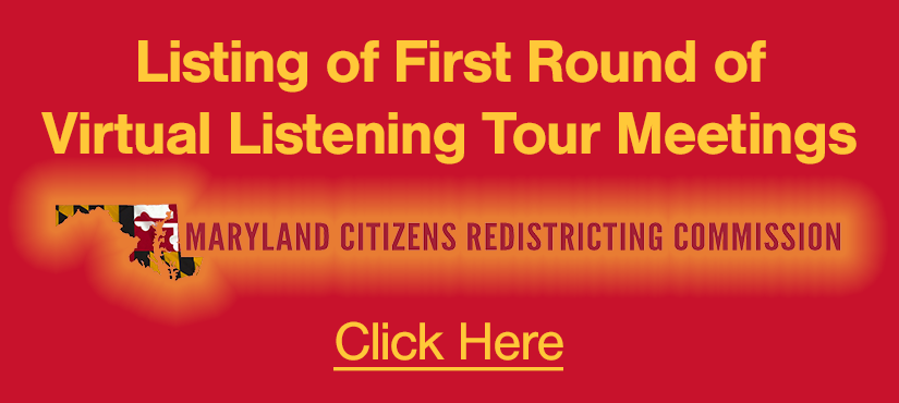 Listing of all listening tour meetings through late July