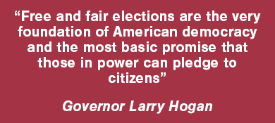 Quote by Governor Hogan